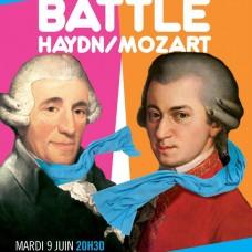 affiche Battle Haydn / Mozart 2015